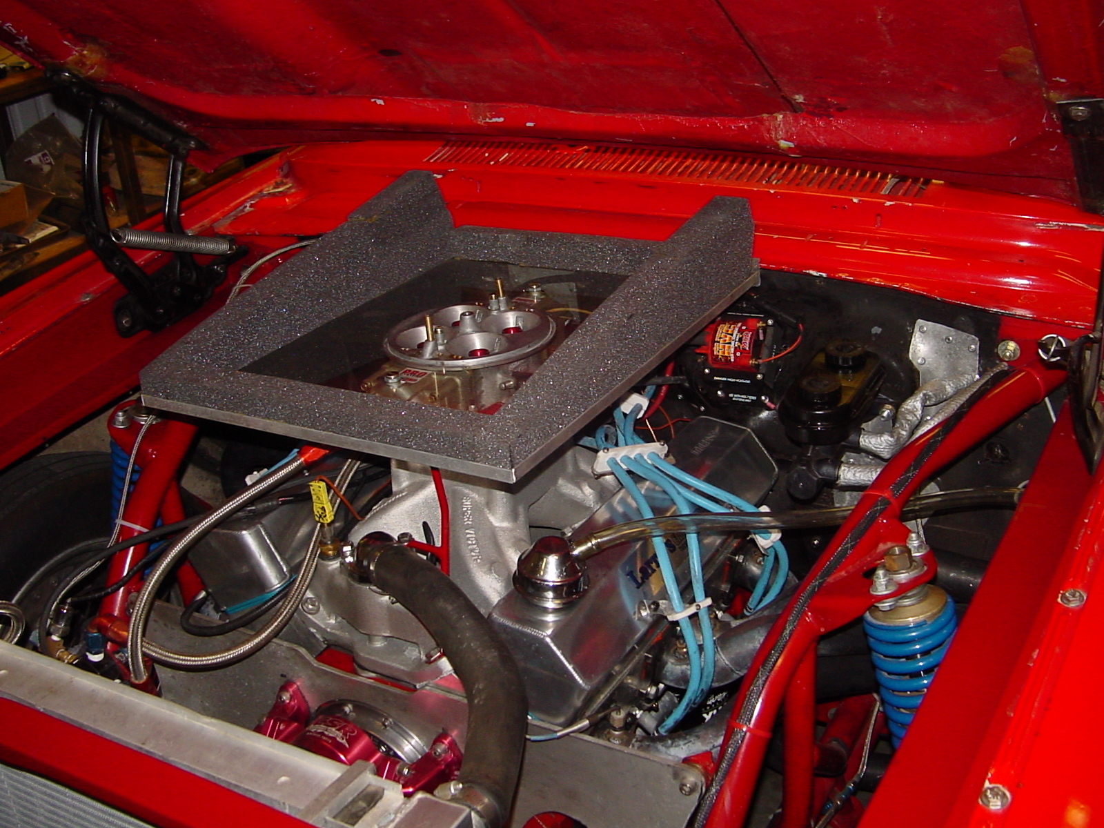 Cowl Induction Hood Air Pan : Air ducted or open el camino central forum chevrolet