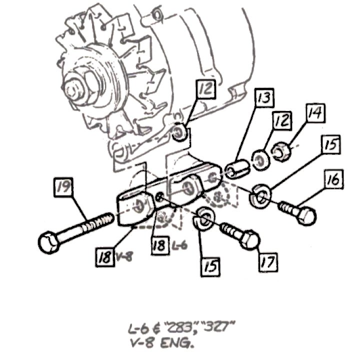 84 chevy alternator wiring diagram  84  get free image